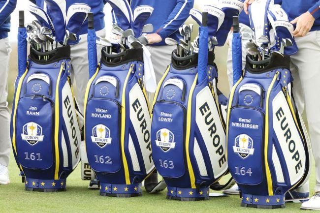 numbers on team europe ryder cup bag
