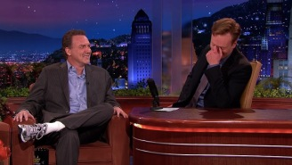"""Conan Reveals How And Why Norm Macdonald's Legendary """"Moth Joke"""" Came To Be"""