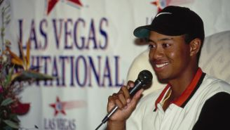Tiger Woods May Have Lost His PGA Tour Rookie Of The Year Trophy