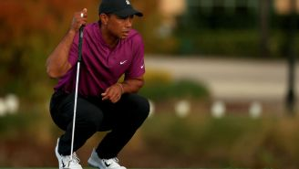 Tiger Woods' Backup Putter Sells For Astronomical Amount Of Money At Auction