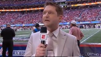 College Football Fans Were Worried About Todd McShay's Health During ESPN's Telecast Of Alabama-Miami Game