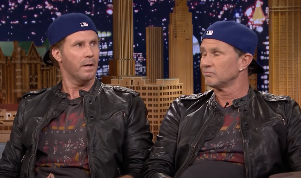 Will Ferrell Chad Smith twins drum-off