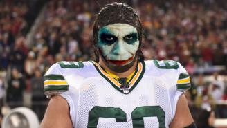 Packers LT David Bakhtiari's Intense 'The Dark Knight' Pregame Routine Is Borderline Psychotic