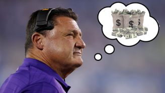 Ed Orgeron Had A Cold-Blooded Answer About His Future After Getting Paid $17 Million NOT To Coach LSU