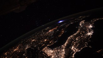What Was The Mysterious Blue Light On Earth That Astronaut Photographed From The ISS?