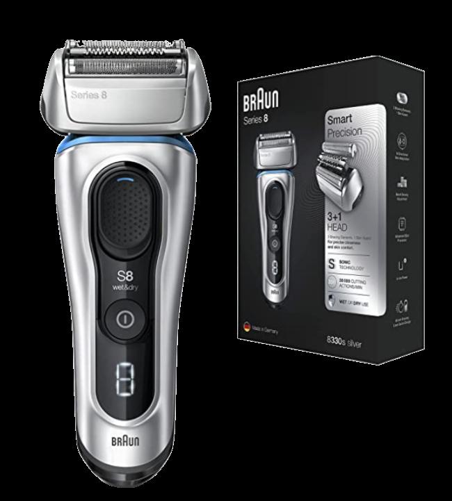 Braun Series 8 8330s Next Generation Electric Shaver