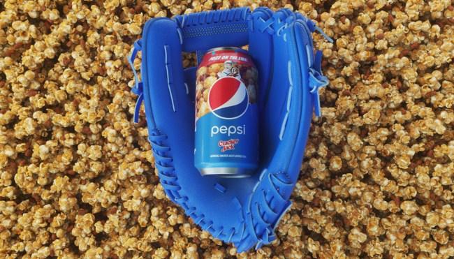 Cracker Jack flavored pepsi soda