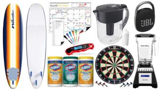 Daily Deals on Amazon: Surfboards, Dart Boards, Clorox Wipes And More!