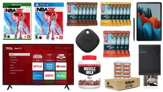 Daily Deals on Amazon: Muscle Milk, CLIF Bars, NBA 2K22 And More!