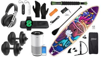 Daily Deals on Amazon: Paddle Boards, Weight Sets, Mop Pads And More!
