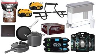 Daily Deals on Amazon: Candy Bars, DUDE Wipes, Brita Filters And More!