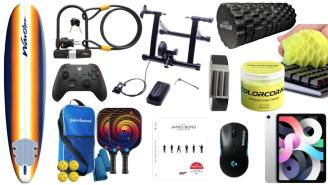 Daily Deals on Amazon: Surfboards, Cleaning Gels, iPad Airs And More!