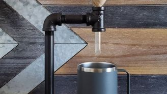 Check Out This Industrial-Designed Pour Over Coffee Maker