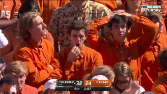 Sad Texas Fans Were Very Sad After Losing To Oklahoma State And The Internet Showed No Mercy