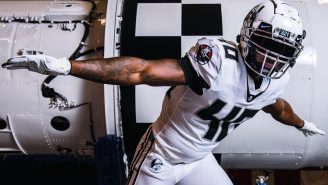 The NASA-Inspired Uniforms For UCF Football's 2021 'Space Game' Are The Coolest Alternates Ever