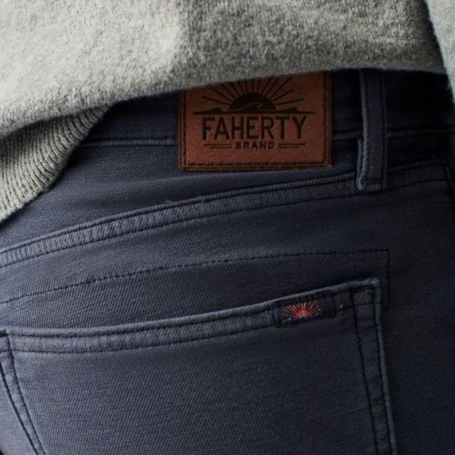 Faherty Brand 5-Pocket Pant