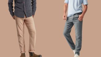 Faherty Brand's Stretch Terry 5-Pocket Is Our Latest Favorite Work Pant
