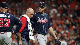 Fans Were Freaking Out Over Charlie Morton Pitching A Full Inning, Striking Out Two, On A Broken Leg