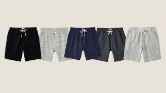 Snag These French Terry Sweatshorts For A Whopping 45% Off
