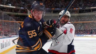 POV Video Of Alex Ovechkin Crushing Someone Against The Boards Will Make Your Bones Tingle