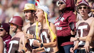 Delusional Mississippi State Fans Are FREAKING OUT Over New Football Helmets For Absolutely No Reason