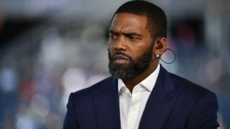 Randy Moss Tears Up And Nearly Cries While Talking About Jon Gruden's Racist Email