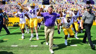 LSU Football Players Rip Local Baton Rouge Reporter To Shreds Over 'BS' Ed Orgeron Rumor