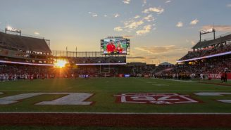 LOOK: Houston Vs. ECU Was Delayed By 5+ Hours And Absolutely Nobody Went To The Game