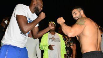 Lamar Odom Beats Down J-Lo's Ex-Husband Ojani Noa In Celebrity Boxing Match