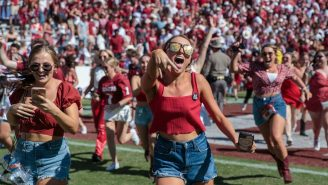 LISTEN: Oklahoma's Exhilarating Final Touchdown Was Even Better On The Spanish Broadcast