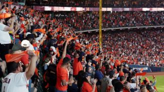 This Astros Fan Telling An Excited Child To Sit Down During A Playoff Game Is Simply The Worst