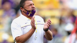 Ed Orgeron Hitting On Pregnant Wife Of LSU Official At Gas Station And Other Embarrassing Interactions With Women Led To School's Decision To Part Ways With Him