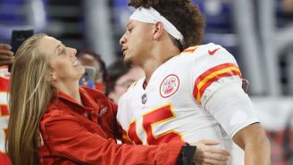 Patrick Mahomes' Fiancée Complains About Refs Never Being In Chiefs' 'Favor', Gets Immediately Trolled By Annoyed Fans