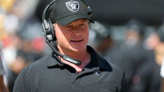 Jon Gruden Resigns As Raiders HC Hours After Latest Emails Show Him Using Homphobic Slurs To Bash Roger Goodell