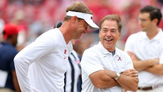 Lane Kiffin Can't Stop Laughing At This Tennessee Fan's Pregame Poem