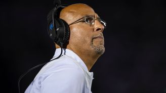A Clearly Distracted James Franklin Calls Ohio Stadium The Wrong Name, Thinks Penn State Plays Illinois On Saturday