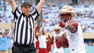 LOOK: Florida State Players Troll UNC With 'Jordan Logo' Touchdown Celebration