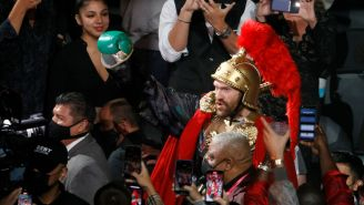 LOOK: Tyson Fury Somehow Partied With Steve Aoki Until Sun-Up After Going 11 Rounds With Deontay Wilder