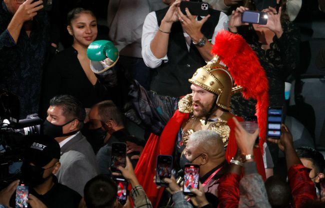 Tyson Fury Las Vegas Steve Aoki Party