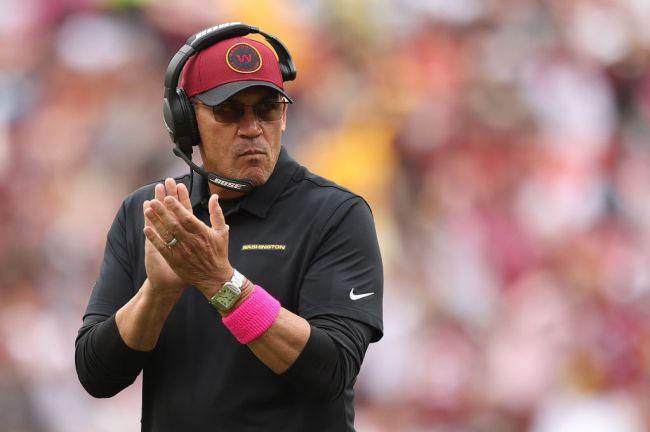 Ron Rivera Washington Football Team Expectations