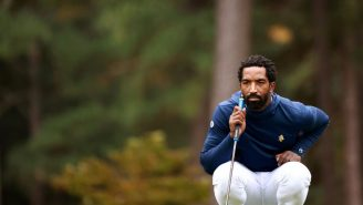 J.R. Smith Played His First College Golf Tournament And Showed Flashes Of Greatness Despite Struggles