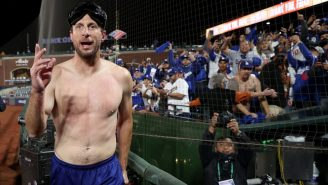 A Shirtless, Soon-To-Be-Drunk Max Scherzer Had An All-Time Quote About Starting NLDS Game 1