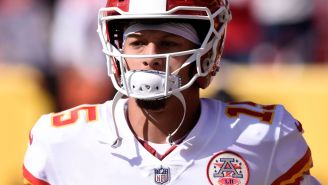 Patrick Mahomes Makes Awful Decision And Throws One Of The Worst Interceptions Of The Season