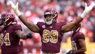 LOOK: Chase Young Honored Sean Taylor In The Coolest Way Possible