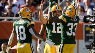 New Picture Shows Several Bears Fans Throwing Up Middle Finger At Aaron Rodgers Before His 'I Own You' Rant