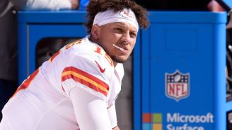 The Internet Mocks Patrick Mahomes For Throwing League-Leading Ninth Interception While Getting Crushed By The Titans