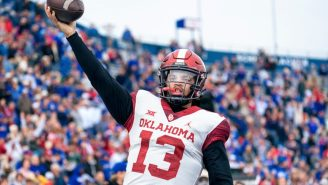 Oklahoma QB Caleb Williams Painted A Vicious Message For Texas On His Fingernails