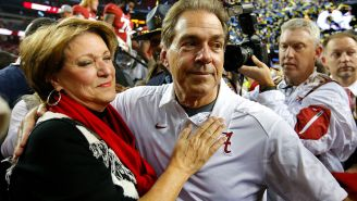 Nick Saban Shared The One Piece Of Advice That His Wife Gives Him And She Chooses Violence