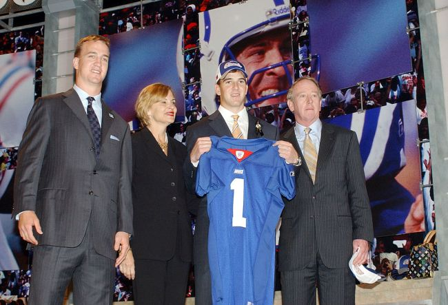 Eli Manning New York Giants NFL Draft 2004