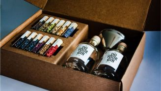 Try Your Hand At Making Your Own Spirits With This Gin Making Kit